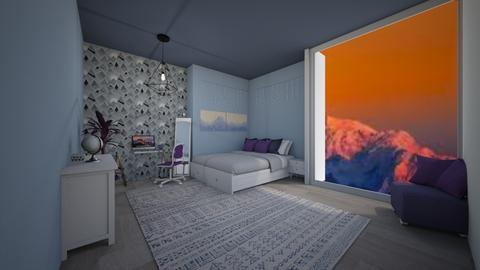 Color Scheme Challenge - Bedroom  - by Destiny H