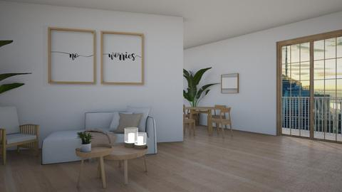 Lshaped on angle - Dining room  - by Arianna_10