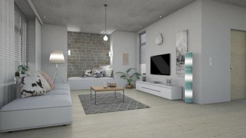II - Modern - Living room  - by evahassing