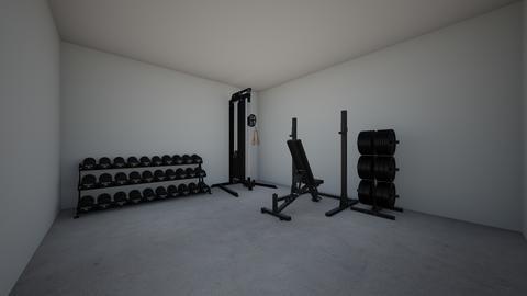 Garage Gym - by rogue_45a9b3e08ce656d002c4eef76ddcf
