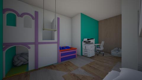 The Dream Bedroom  - Kids room  - by SuS_pEaNuT