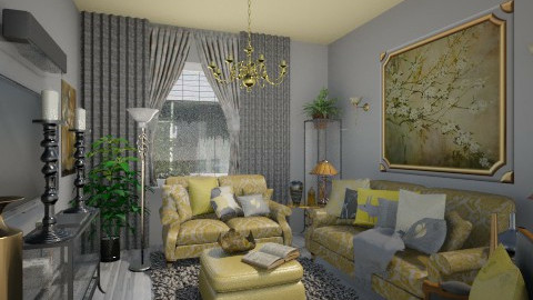 Gold Platinum - Classic - Living room  - by Lackew