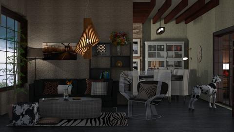 HUISKAMER - Living room  - by nat mi