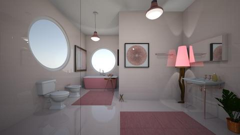 pink wash - by beatricebenatar
