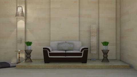 minimalist - Living room  - by nat mi