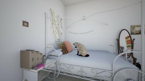 my bedroom - Vintage - Bedroom  - by Eva Sterckx