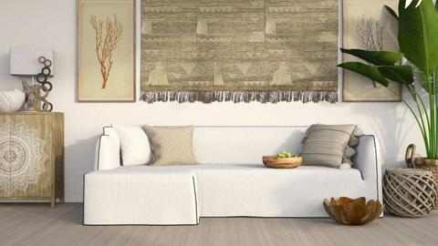 Tassels - Living room  - by KittyT6