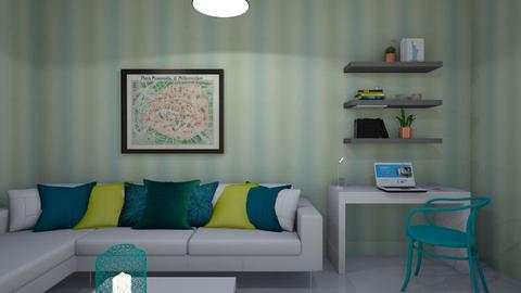 sala tuquesa - Living room  - by clasesytutorias