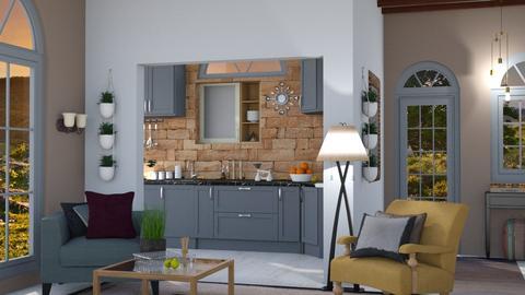 Classic Turn - Modern - Kitchen  - by Gurns