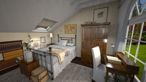 Vintage Bedroom - Bedroom  - by smhewitt