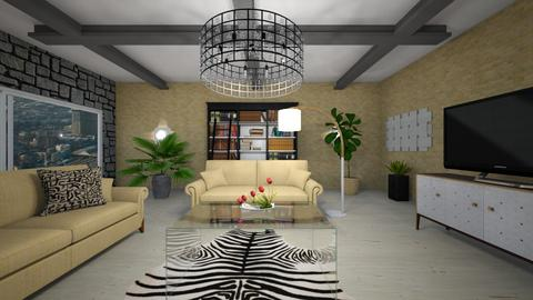 lR - Modern - Living room - by Saj Trinaest