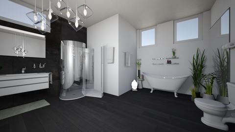____ - Bathroom  - by bumblebeebetch