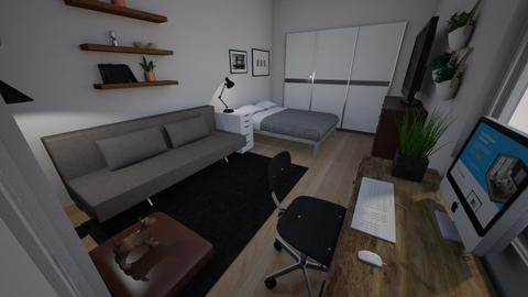 Christians Pad - Modern - Bedroom  - by angelicathea