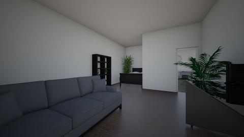 my Bedroom - Living room  - by Lelo pilmeni