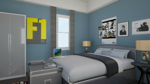 Basic Teen Bedroom - Bedroom - by Iggy0529