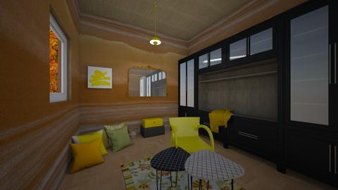yellow room - Living room - by Nature_lover