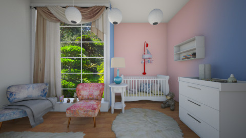 pantone - Kids room  - by ANAAPRIL
