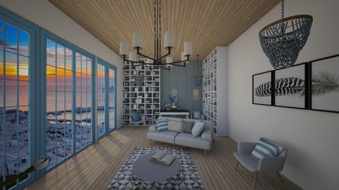 Greek Living Room - Living room  - by AmeliaGrangerWeasley