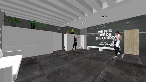 tennis room - by nikolilelinka
