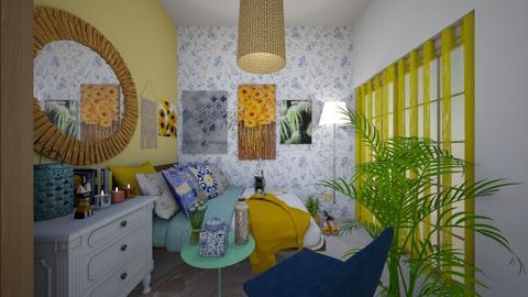 Naxos bedroom - Bedroom - by stellapnp