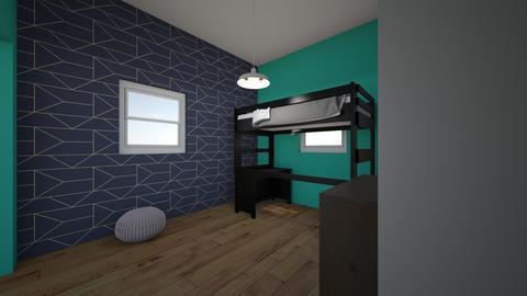 murphy bed2 - Kids room - by freshndaktchn