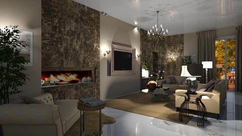 Template Baywindow Room - Living room - by rosanebpf