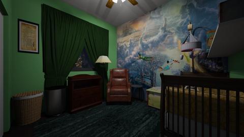 Peter Pan Nursery - Kids room  - by SammyJPili