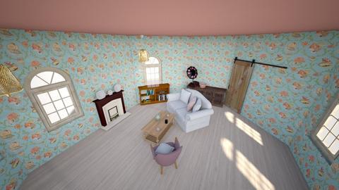 Vintage Sitting Room - Vintage - Living room  - by MimiB115