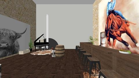 My western cafe design - Country - by Joddles