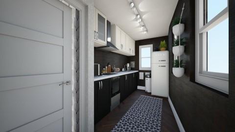Kitchen 3 - Minimal - Kitchen  - by HenkRetro1960
