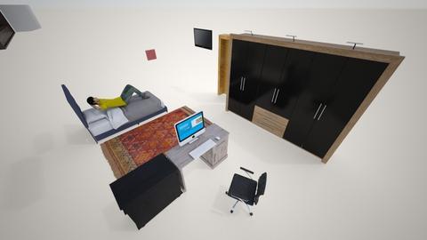 cuarto nr1 - Modern - Bedroom - by sebauy