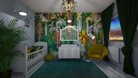 Juvenile Jungle - Kids room  - by MackenziePaige