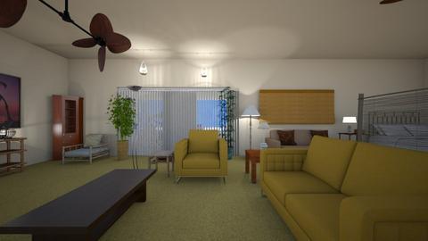 Beach Room - Living room  - by WestVirginiaRebel