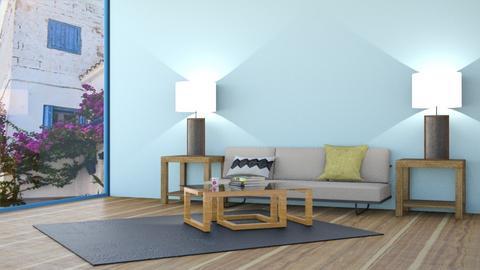 Greek  - Modern - Living room  - by Rodrigo Aguilera Rodriguez