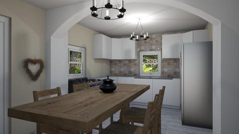 FS Relationship Corner - Modern - Kitchen  - by Daisy de Arias