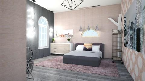 girlsbedroom1 - Modern - Bedroom  - by Masha Gofman