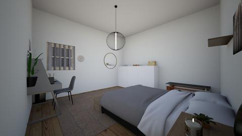 Julias room - Vintage - Bedroom  - by Julia_yeettt