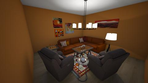Monday Challenge - Living room  - by EmmaB_16