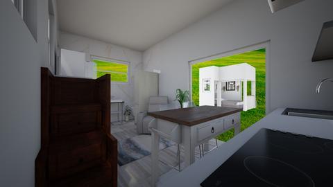 Tiny house pool house 14 - Kitchen  - by joannaowen