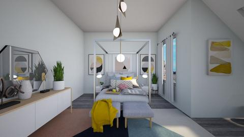 Calm Studio View 7 - Modern - Bedroom - by musicdesign22