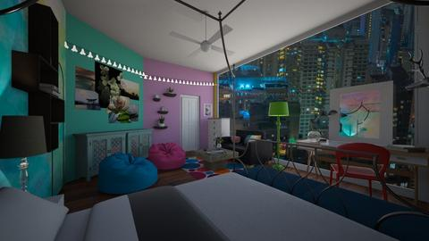 maximal bedroom  - Bedroom - by Linde Hubbard
