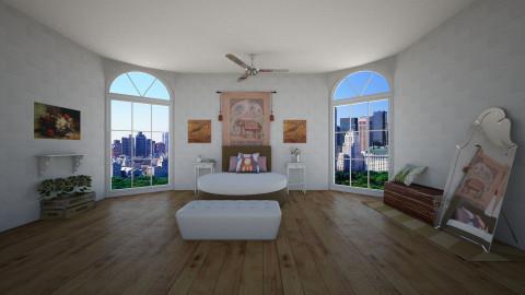 Boho - Bedroom - by Williber Cruz