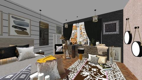 DARK - Bedroom - by elenatsempeli