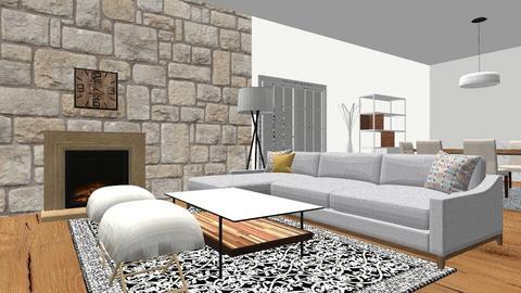 Veronica house - Living room  - by venaut