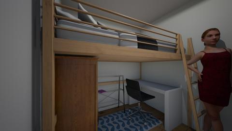 Lofty - Bedroom  - by lyrikkah