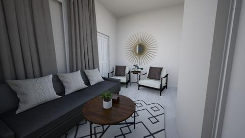 JAPANDI LOUNGE - Minimal - Living room - by moon_safi