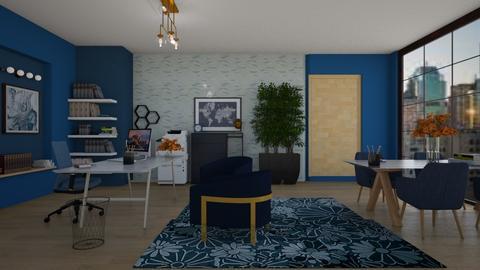 blu lawyers office - Modern - by quesal0l2347