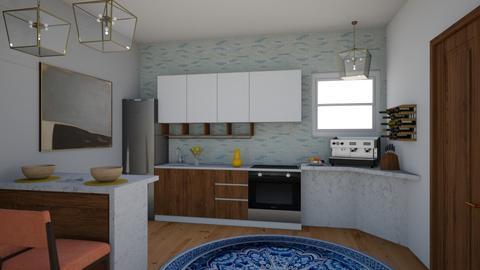 MidCentury Modern Kitchen - Eclectic - Kitchen  - by laurenpoisner
