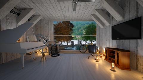 living room - by Malithu