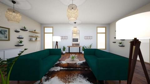 Juliette Living Room - Rustic - Living room  - by guglielmojk